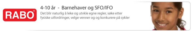 4-10 år / Barnehager & SFO/IFO