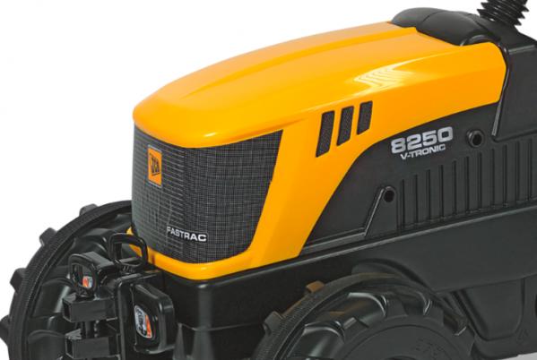 Tråtraktor Rolly Farmtrack JCB 8250 med lesseapparat