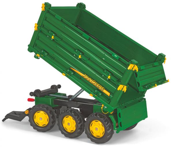 Tilhenger for tråtraktor Rolly Multitrailer / 3-akslet / John Deere