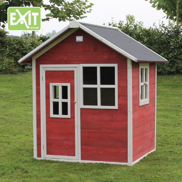 Lekehus - EXIT - Loft 100 rød