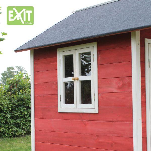 Lekehus - EXIT - Loft 300 rød