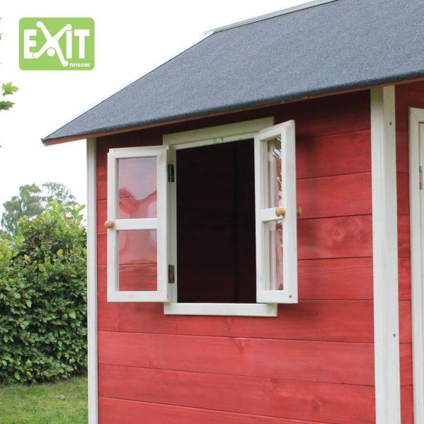 Lekehus - EXIT - Loft 500 rød