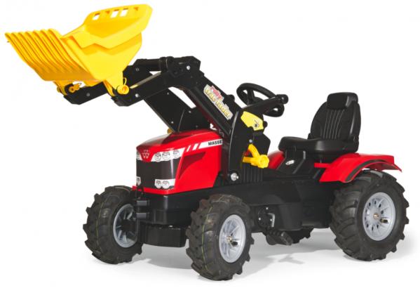 Tråtraktor Rolly Farmtrack Massey Ferguson 8650
