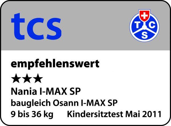 Barnesete - Osann IMax SP Corail Framboise - 9-36 kg - lekebord