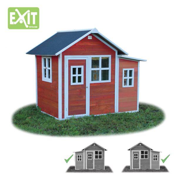 Lekehus - EXIT - Loft 150 rød