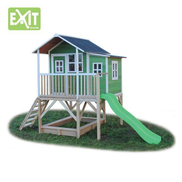 Lekehus - EXIT - Loft 550 grønn