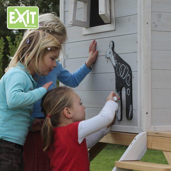 Lekehus - EXIT - Loft 550 rød