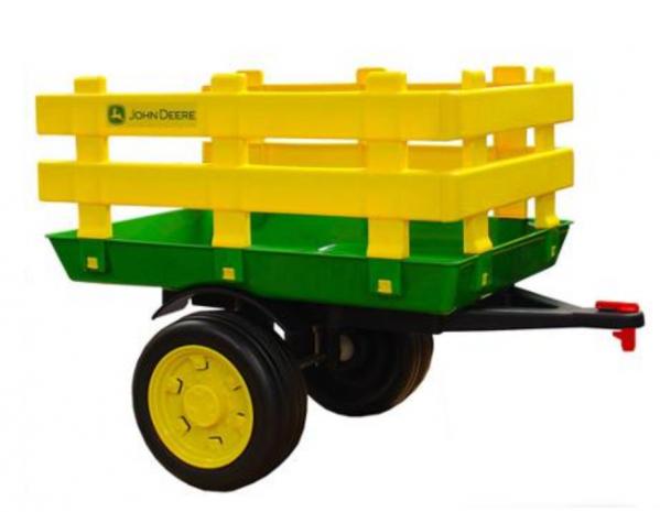 Tilhenger til elektrisk bil John Deere Stake-side trailer