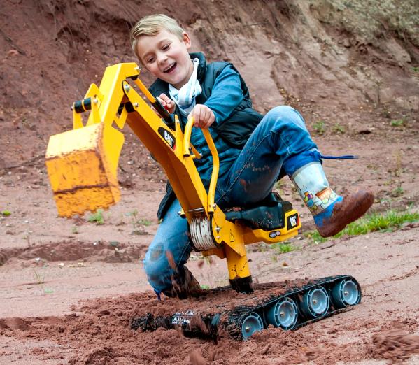 Gravemaskin  for barn Rolly digger XL