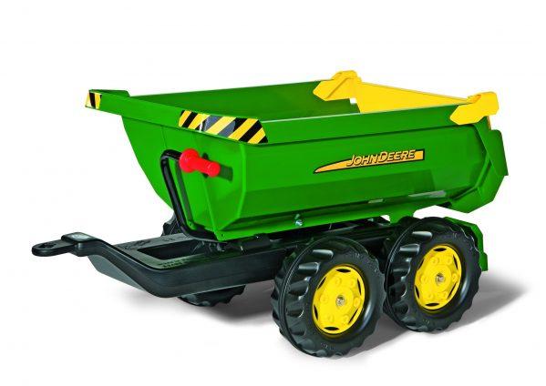 Tråtraktor Rolly Farmtrack John Deere 6210R traktor med lesseapparat