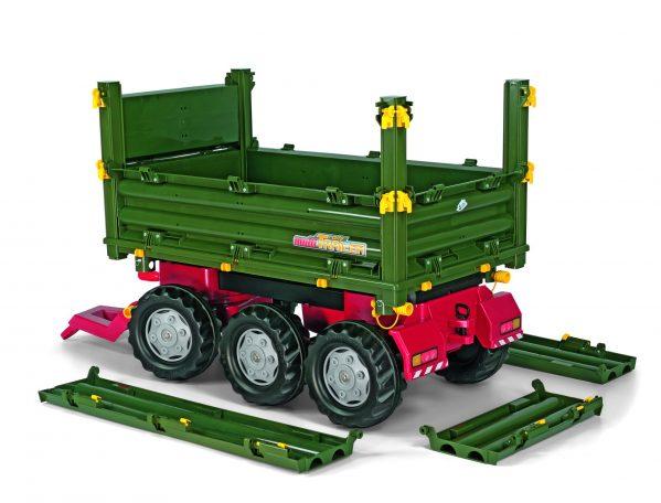 Tilhenger til tråtraktor Rolly Multitrailer / 3-akslet