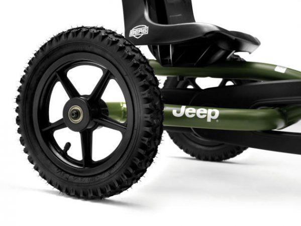 Tråbil - Berg - Jeep Junior