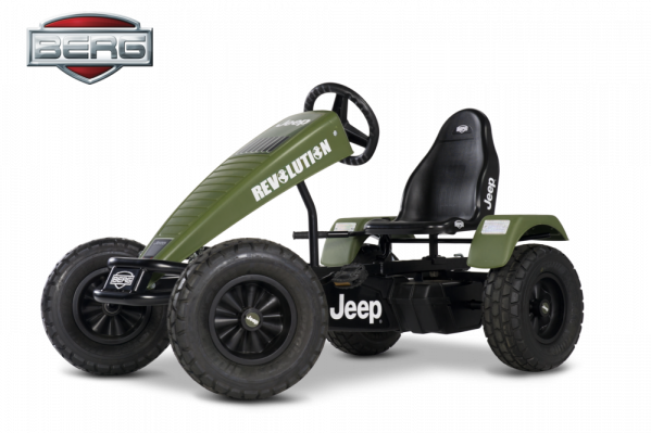 Tråbil - Berg - Jeep Revolution BFR