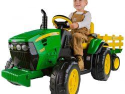 Elektrisk traktor barn John Deere