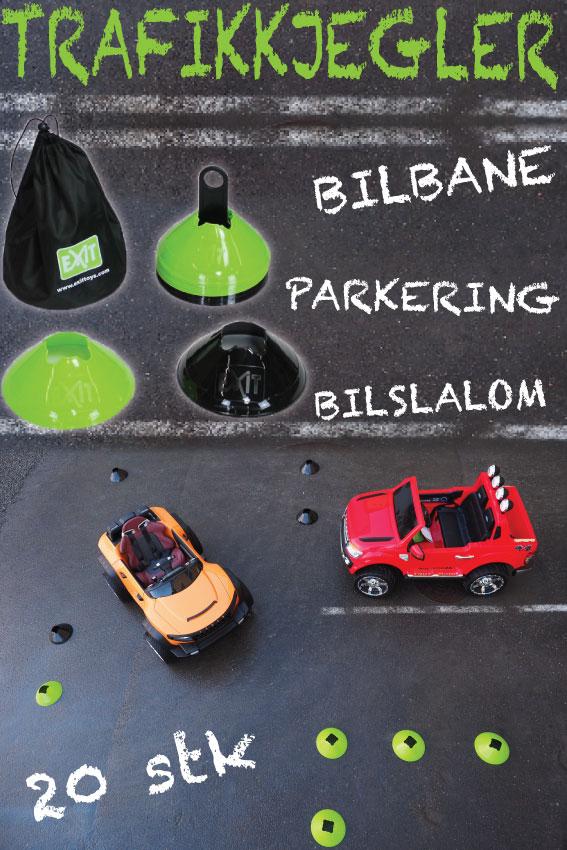 Elektrisk bil for barn - Henes Broon T870 Full-time 4WD system