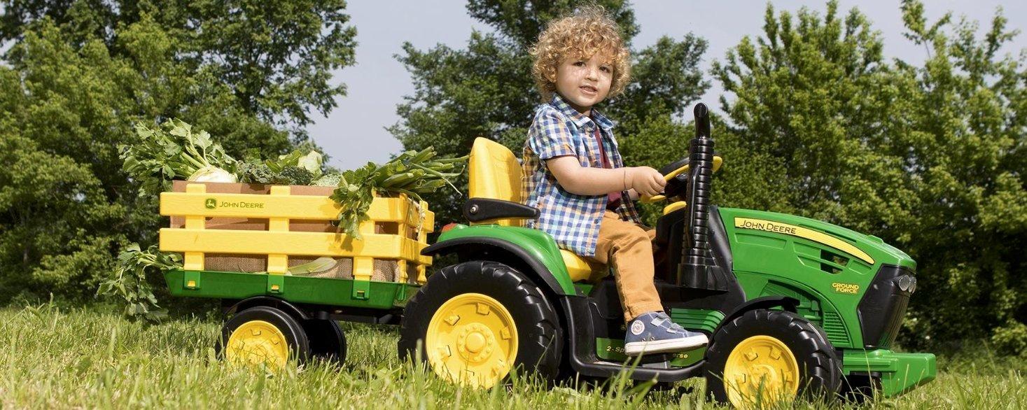 Derfor vil ditt barn elske John Deere elektrisk traktor