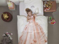 Prinsesse sengesett for barn Snurk