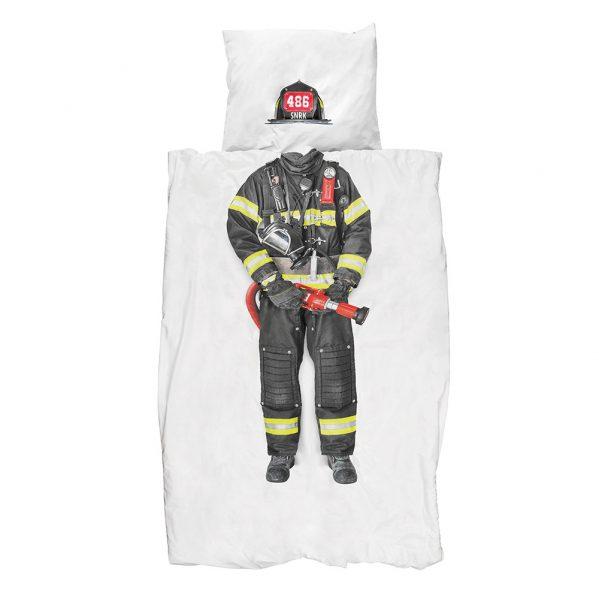 snurk-brannmann-sengesett-barn