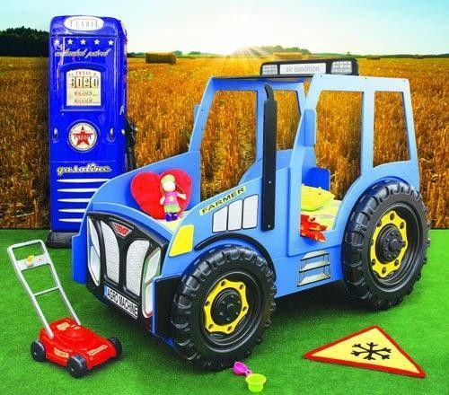 traktorseng blå
