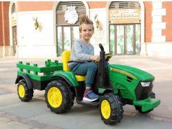 Elektrisk traktor for barn